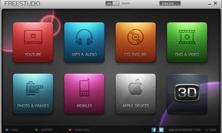 Free Studio, suite de aplicaciones multimedia gratuita