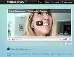 Twittamentary: un documental sobre la gente que utiliza Twitter.