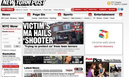 The New York Post bloquea el acceso a su sitio desde iPad con Safari