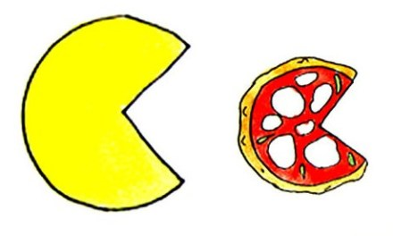 La idea de crear PacMan nació en una pizzería