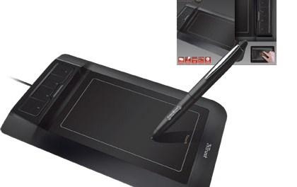 Nuevo dispositivo multitáctil para dibujar en la computadora
