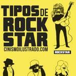 Los distintos tipos de Rock Stars #Humor gráfico