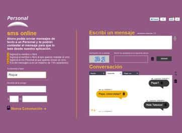 Extensión Chrome de Personal para mandar sms desde Web / ARG