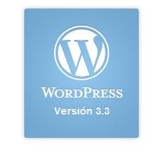 Sonny: La última versión de WordPress 3.3