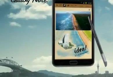 ¿Es un smartphone?¿es una tablet? Es Samsung Galaxy Note!