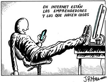El #Humor siempre tiene un plus en la web / J.R.Mora y sus viñetas !