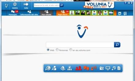 Probando por un rato el nuevo buscador Volunia. [Beta   Por invitación]