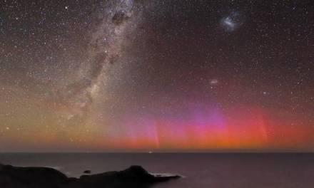Fuego en el cielo austral #Video