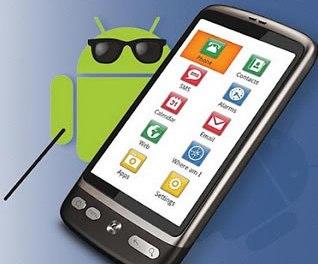 Los ciegos o con poca visión, también pueden usar un smartphone!
