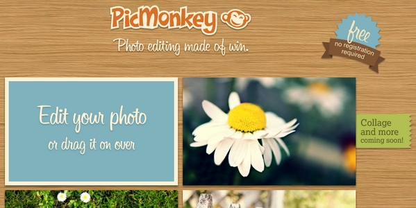 PicMonkey, una alternativa a Picnik sin pasar por Google