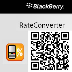 BlackBerry Rate Converter, para calcular todas las tasas de interés