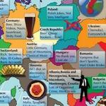 Hablando de estereotipos, cómo se ven norteamericanos y europeos #Humor