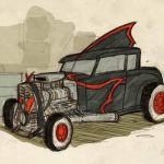 Rockabilly-Batmobile-Denis-Medri