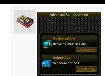 Advanced RAM Optimizer: Otra buena aplicación para mantener tu Blackberry a punto