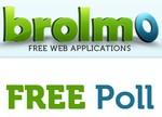 Brolmo Web Poll, encuestas en tu web o blog, rápidas, fácil y en español