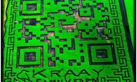 El código QR más grande del planeta tiene 309.570 pies cuadrados