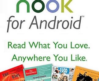 Barnes&Noble actualiza su aplicación NOOK para teléfonos Android