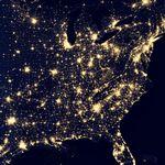 El planeta Tierra visto de noche como nunca antes #Video