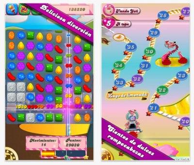 Actualización de Candy Crush Saga agrega 30 niveles + [iPad