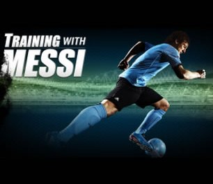 Entrenando Con Messi y tu BB10 o Playbook