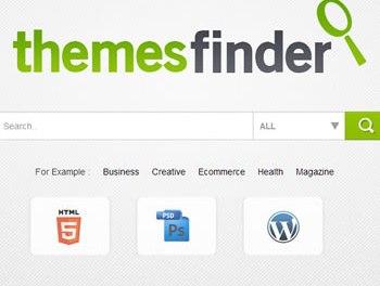 Themes Finder: Herramienta para elegir una plantilla para tu sitio web