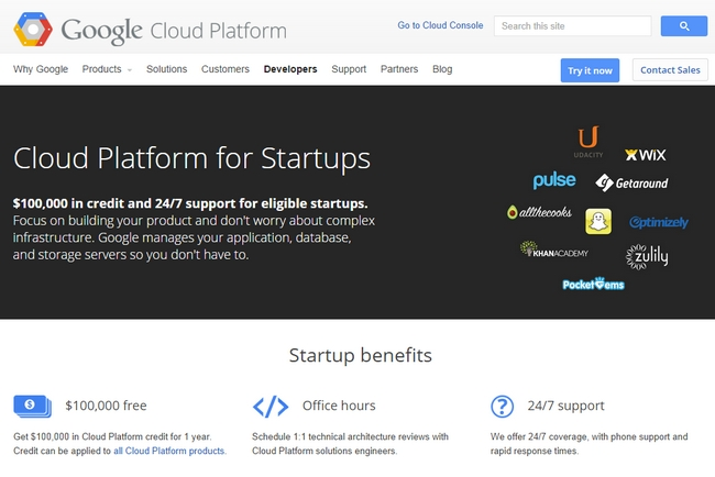 google-cloud-plataform-startups