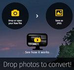 Convertir ficheros de imágenes del tipo RAW a formato JPG, a través del navegador y gratis