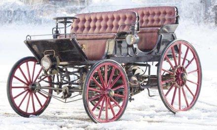 Subastarán el Armstrong Phaeton, el primer vehículo híbrido construído en 1896