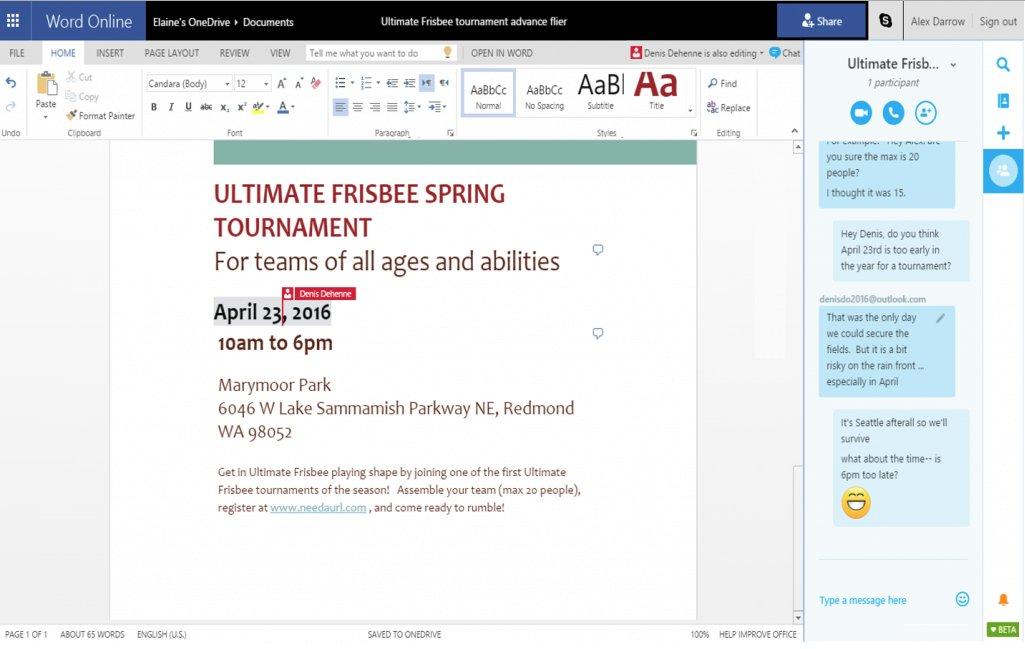 Microsoft-office-web-skype