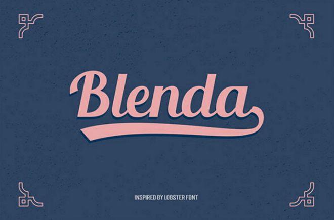 blenda-font