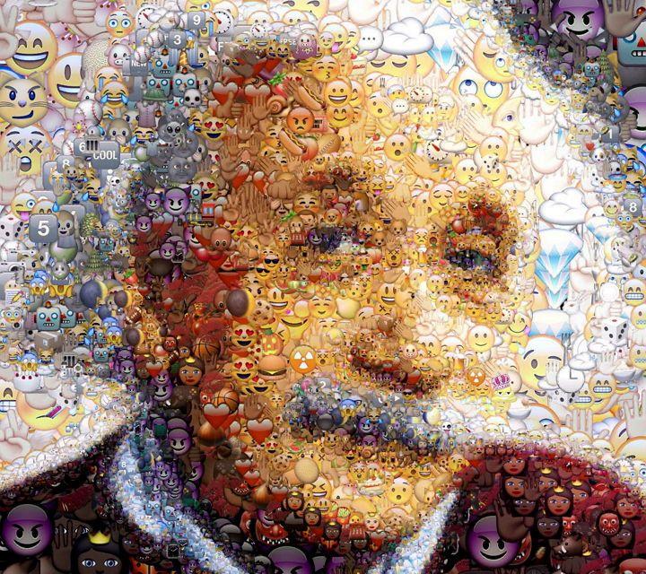 Transforma un selfie o cualquier imagen en un alucinante mosaico de emojis