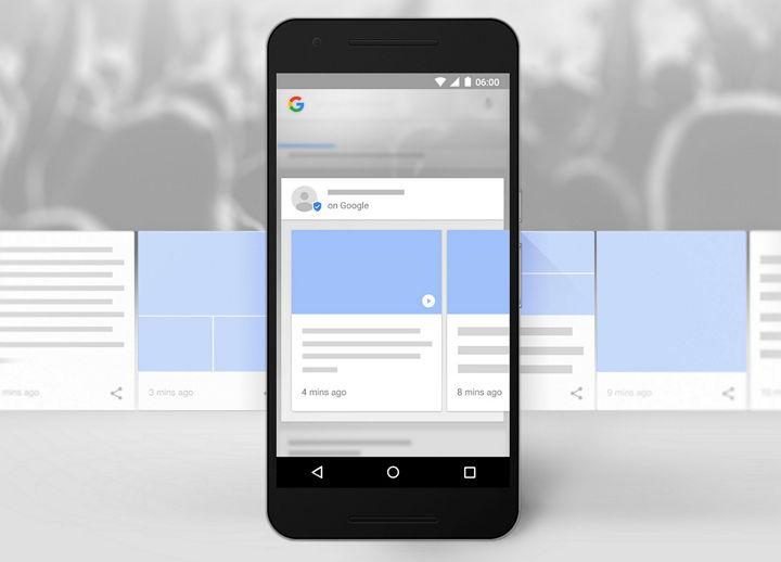 Google anuncia Posts, servicio para publicar contenido en el buscador y compartir en redes sociales