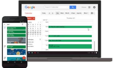 Google Calendar web incorpora recordatorios con soporte para tareas y eventos