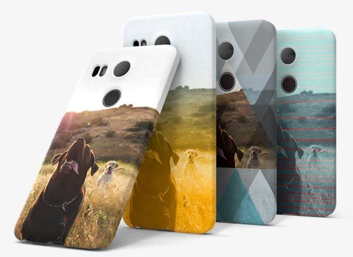 Google My Live Case te deja personalizar un protector para tu smartphone Nexus