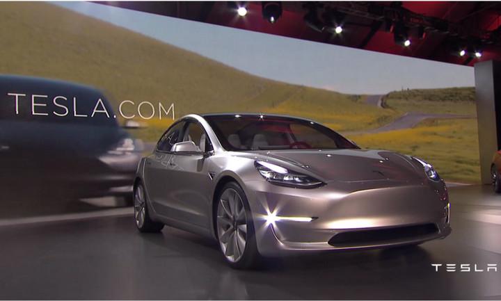 En tan solo una semana ya se hicieron 325 mil reservas del Tesla Model 3