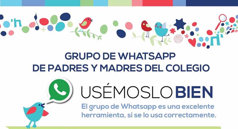 ¿Reglas para el grupo de Whatsapp de la escuela de tu hijo?
