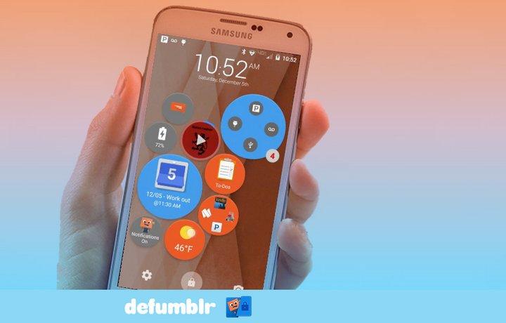 Defumblr es una estupenda e inteligente pantalla de bloqueo para Android