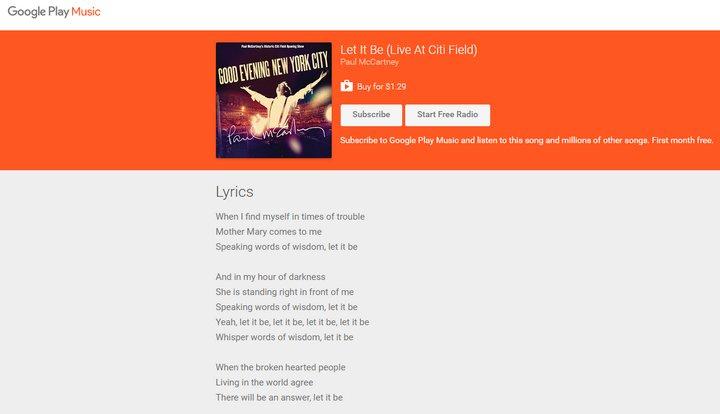 google-play-music-music-lyrics