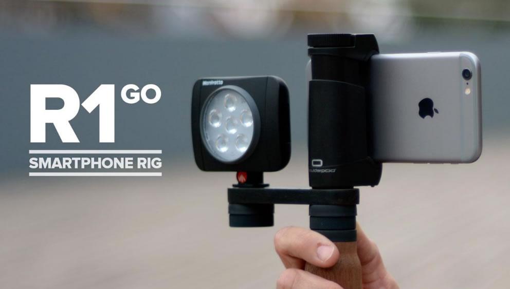 Shoulderpod: Accesorios para grabar con móviles #periodistas