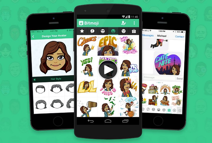 Bitmoji Android iOS