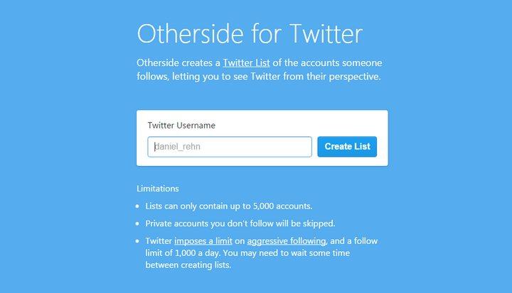 Otherside para Twitter