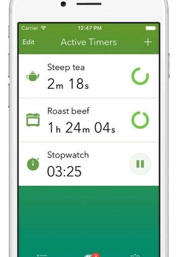 Timeglass, un excelente minutero en tu smartphone para ejercicios, comidas y rutinas diarias