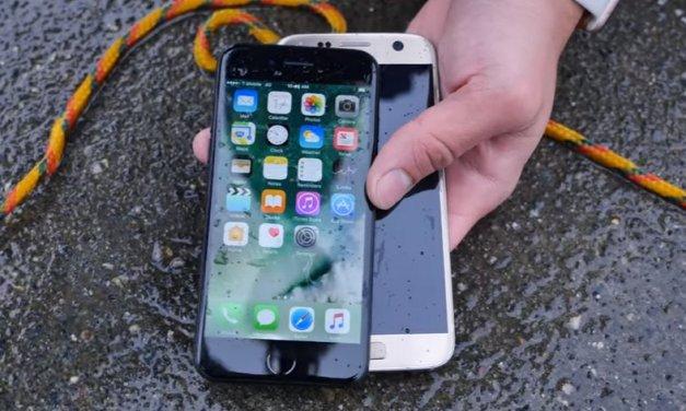 iPhone 7 vs el Galaxy S7 en una prueba de resistencia al agua a 35 pies (10,67 metros) de profundidad