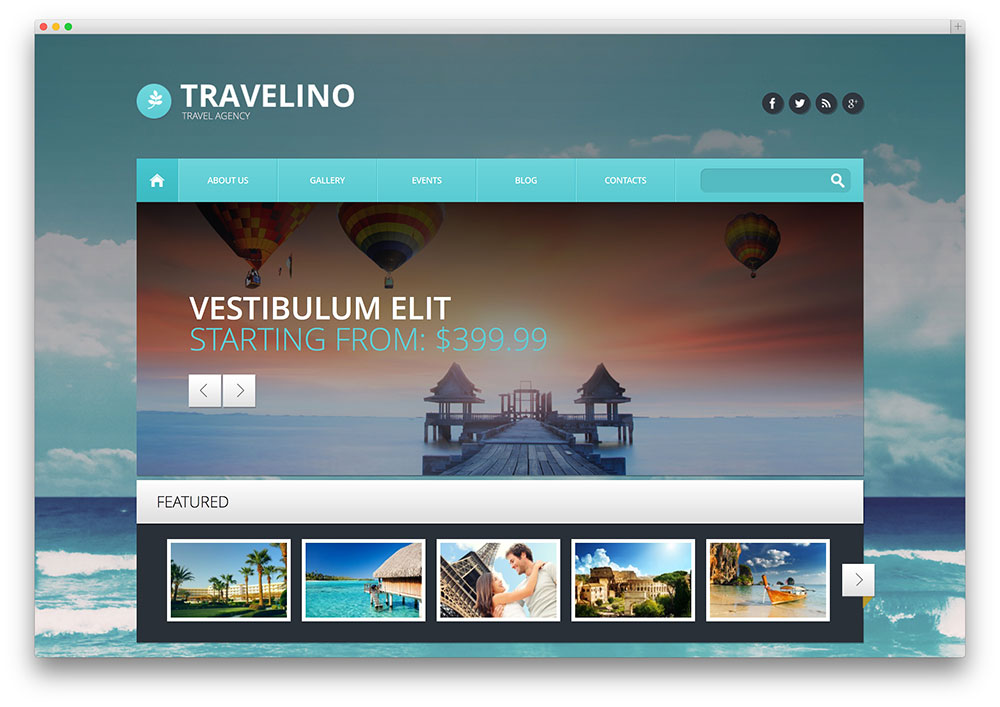 15 WordPress Themes for Travel Bloggers - Geeks Zine