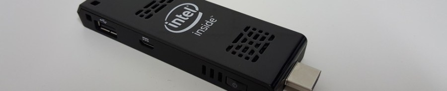 Intel Compute Stick Slider