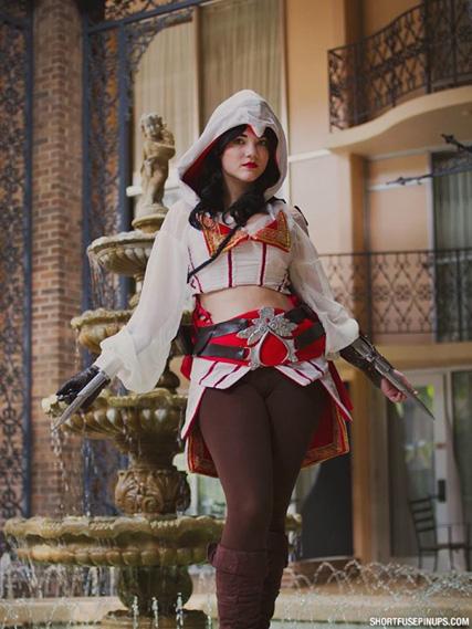 Wallpapers Girls Gamer Genderbent Ezio From Assassin S Creed Ii Cosplay