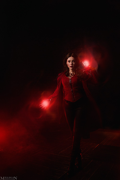 May Girls Wallpaper Scarlet Witch Cosplay
