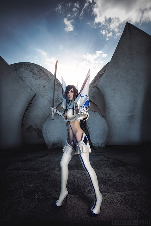 Wallpaper Girl Nerd Kiryuin Satsuki From Kill La Kill Cosplay