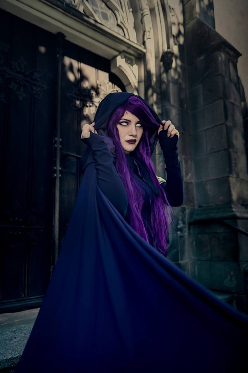 Ikea Dc Raven From Teen Titans Cosplay