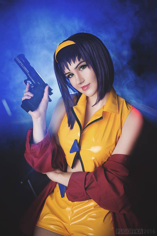 Fighter Girl Wallpaper Faye Valentine From Cowboy Bebop Cosplay